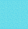 seamless water pattern flat design vector image