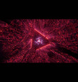 3d background wallpaper with shiny glowing vector image vector image