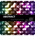 abstract disco glowing background vector image vector image