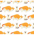 cat breeds cute kitty pet cartoon cute animal vector image