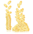 coins vector image