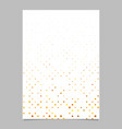 abstract dot pattern brochure design - cover vector image vector image
