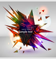 abstract eps10 background vector image vector image