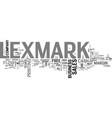 an analysis of lenox lnx text word cloud concept vector image