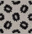 boho floral daisies allover seamless vector image vector image