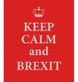 Brexit Text Isolated vector image