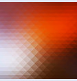 brown orange white rows of triangles background vector image