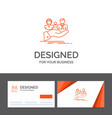 business logo template for insurance health vector image