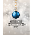 Elegant Classic Christmas Background vector image vector image