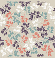 elegant endless pattern with colorful roses vector image