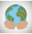 environment ecology icon design vector image vector image