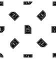 file html pattern seamless black vector image vector image
