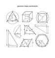 Geometrics vector image vector image