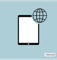 globalization icon globalization icon eps10 vector image vector image