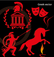 greek vector image vector image