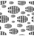 salmon steak red fish pattern vector image