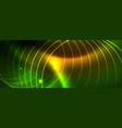 techno glowing background futuristic dark vector image