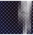 Abstract background with bright lines and figures vector image