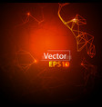 background of geometric lines vector image vector image