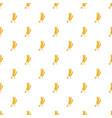 barley ear pattern vector image vector image