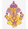 Hindu lord ganesha ornate sketch drawing tattoo