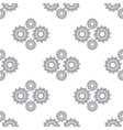 New Mechanism seamless pattern vector image vector image