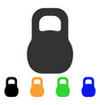 weight iron icon vector image vector image