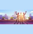 best friends forever friendship hugging people vector image vector image