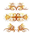 Body art tattoo vector image vector image