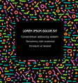 Color Lines Banner vector image vector image