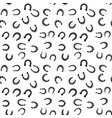 horseshoe seamless pattern background vector image