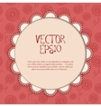 Red Vintage Card vector image vector image