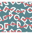 Geometric shapes seamless pattern Abstract vector image