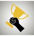 Award winner design vector image vector image