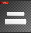 blank battery on transparent background vector image
