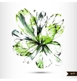 hand drawn watercolor background vector image vector image
