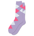 Socks icon vector image