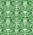 green and white seamless abstract background vector image vector image