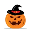 Halloween pumpkin Cartoon vector image vector image