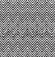 Hand drawing zigzag geometrical ethnic pattern vector image