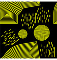 memphis seamless background abstract pattern vector image vector image
