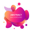 modern futuristic gradient banner vector image