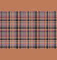 mosaic check plaid pixel fabric texture seamless vector image vector image