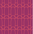penis seamless pattern dick background linear vector image vector image