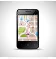 Smartphone Navigation vector image vector image