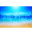 Summer Beach Abstract Background vector image vector image