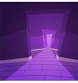 The Hallway vector image vector image