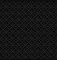 abstract black 3d volumetric geometric seamless vector image vector image