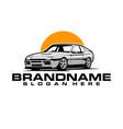 car logo template vector image vector image