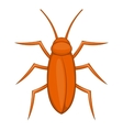 Cockroach icon cartoon style